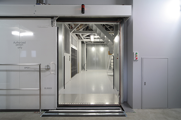 entrance: 10m chamber